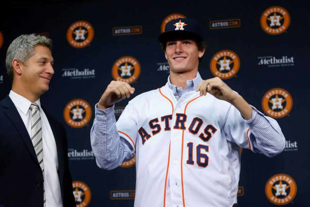 Forrest Whitley Signs With The Astros