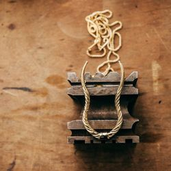 """Eland Horn Necklace, <a href=""""http://www.psyche-jewelry.com/product/eland-horn-necklace"""">$175</a>"""