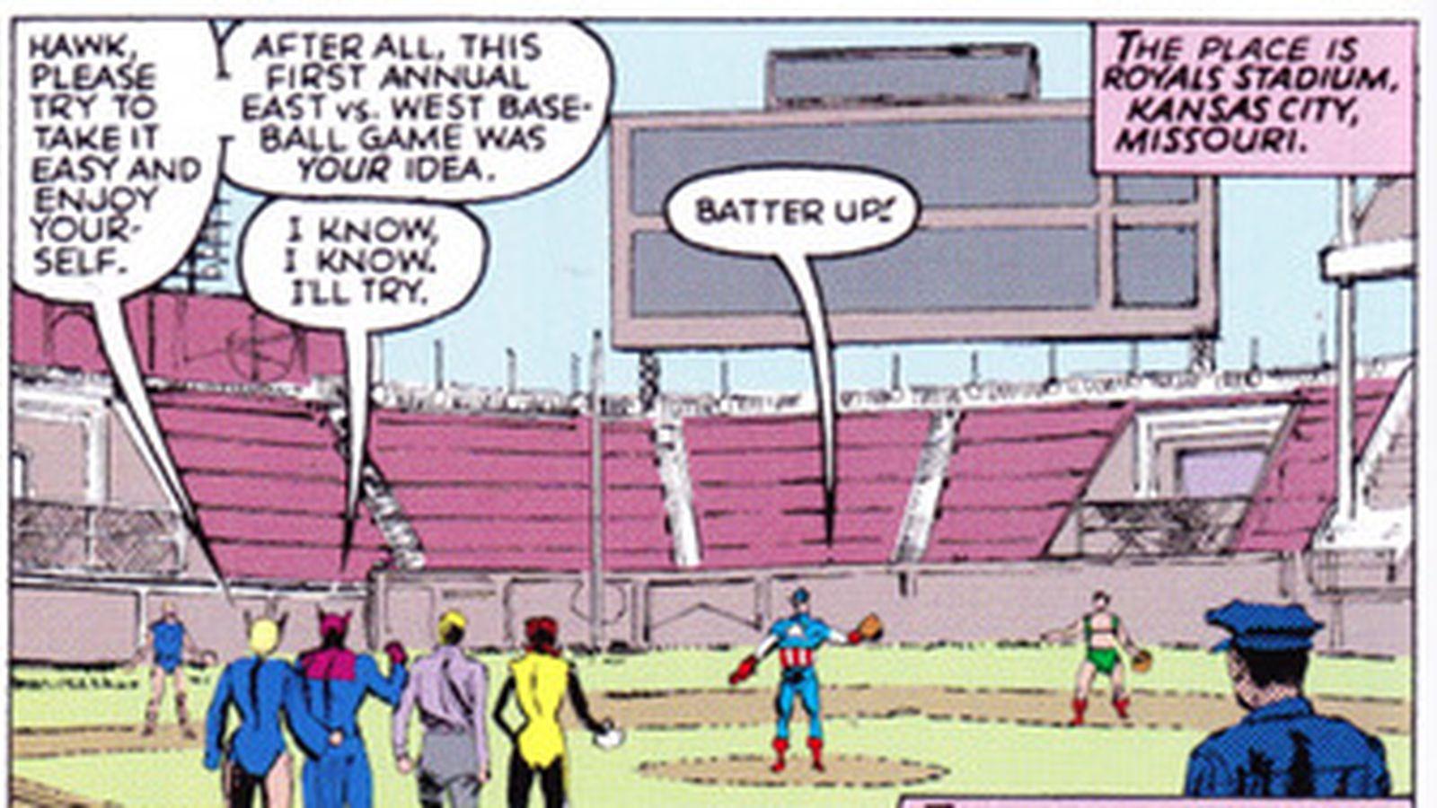 Keller S Ics Corner Royals Stadium Hosts The Avengers