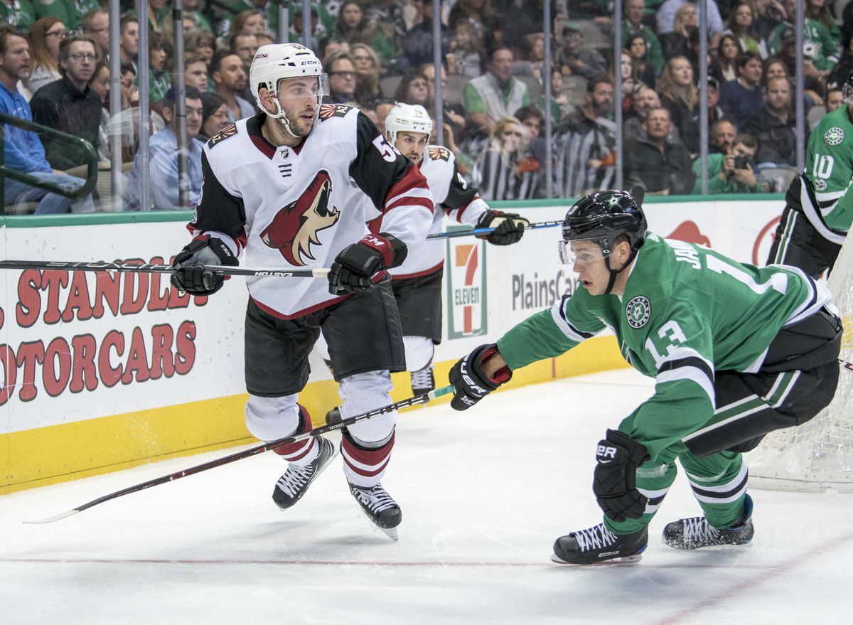 NHL: Arizona Coyotes at Dallas Stars