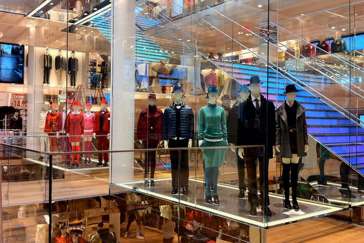 """Uniqlo SF <a href=""""http://sf.curbed.com/archives/2012/10/03/take_a_look_at_the_west_coasts_first_uniqlo_store_opening_this_friday.php"""">via</a>"""