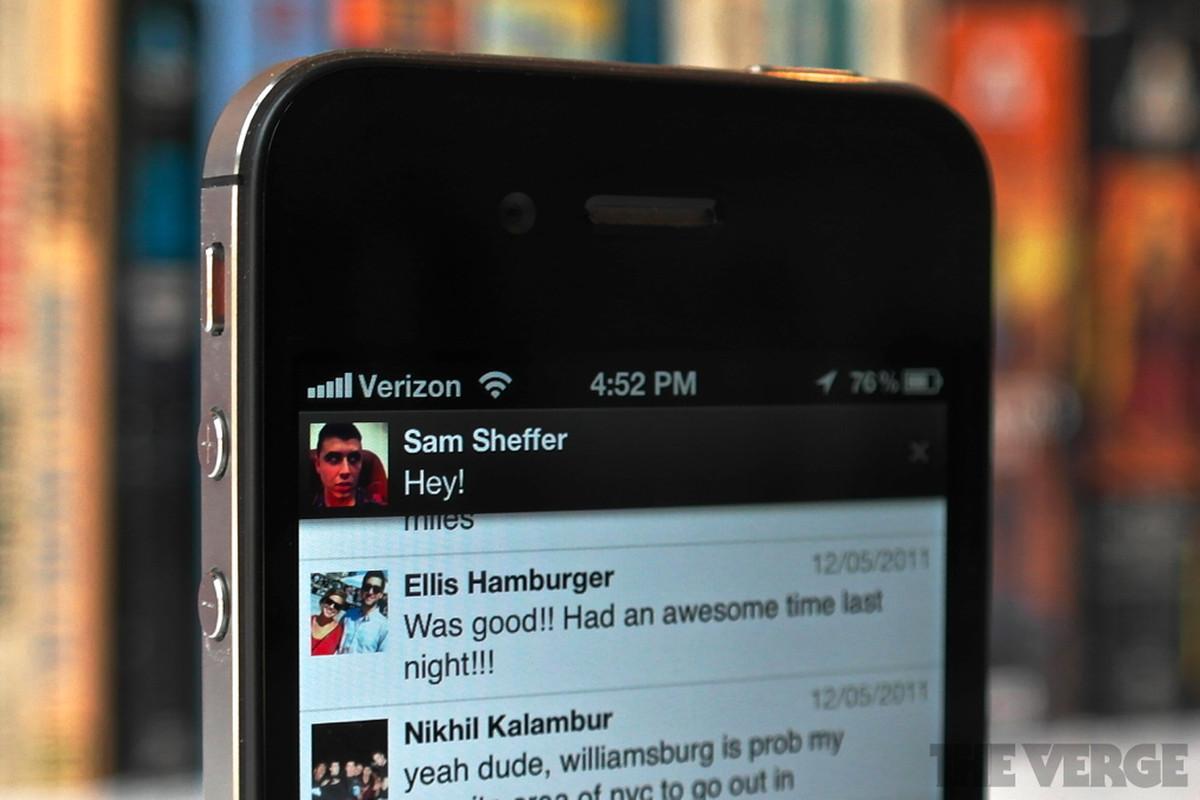 facebook messenger 1.8