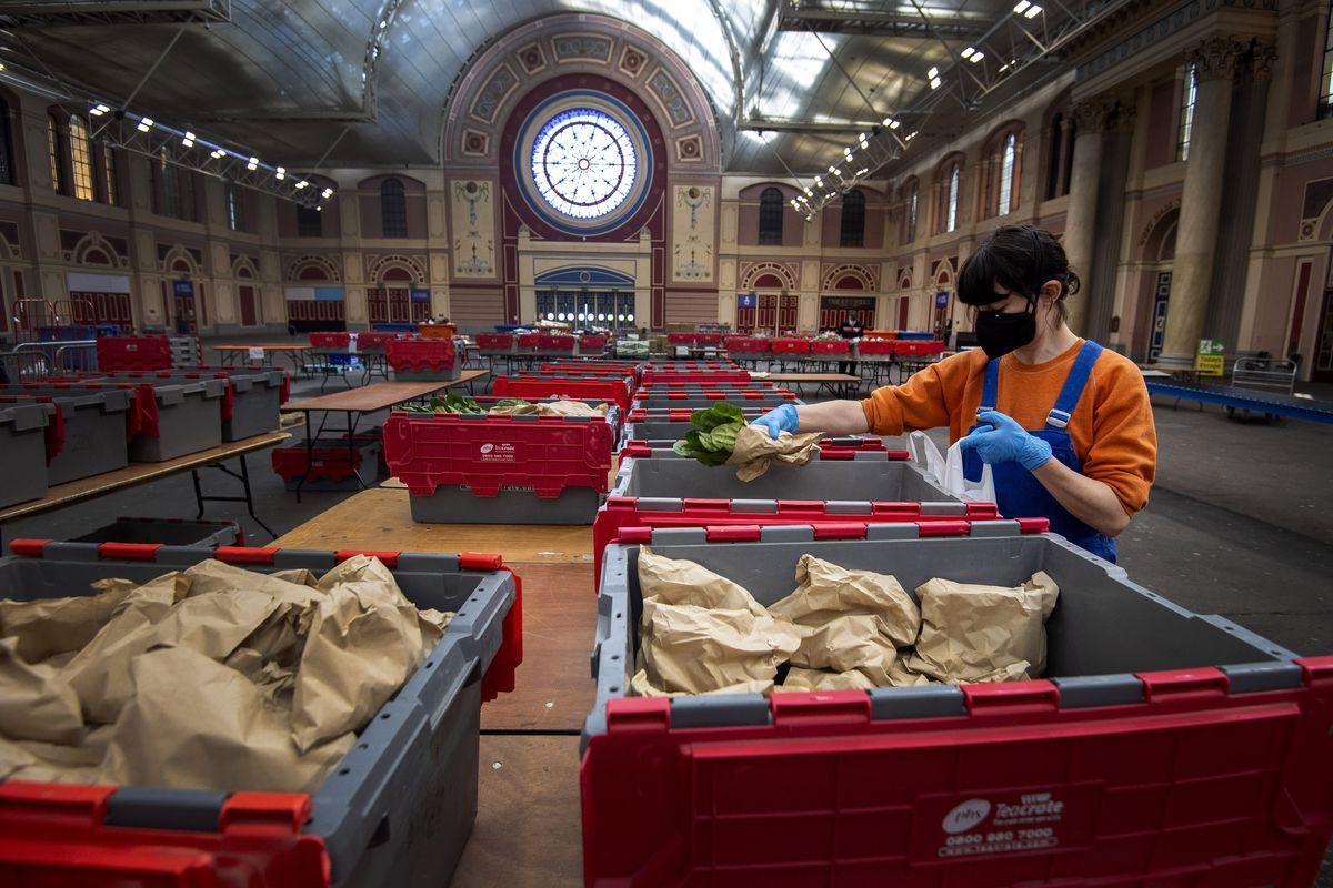 Food distribution during coronavirus isn't working with UK supermarkets