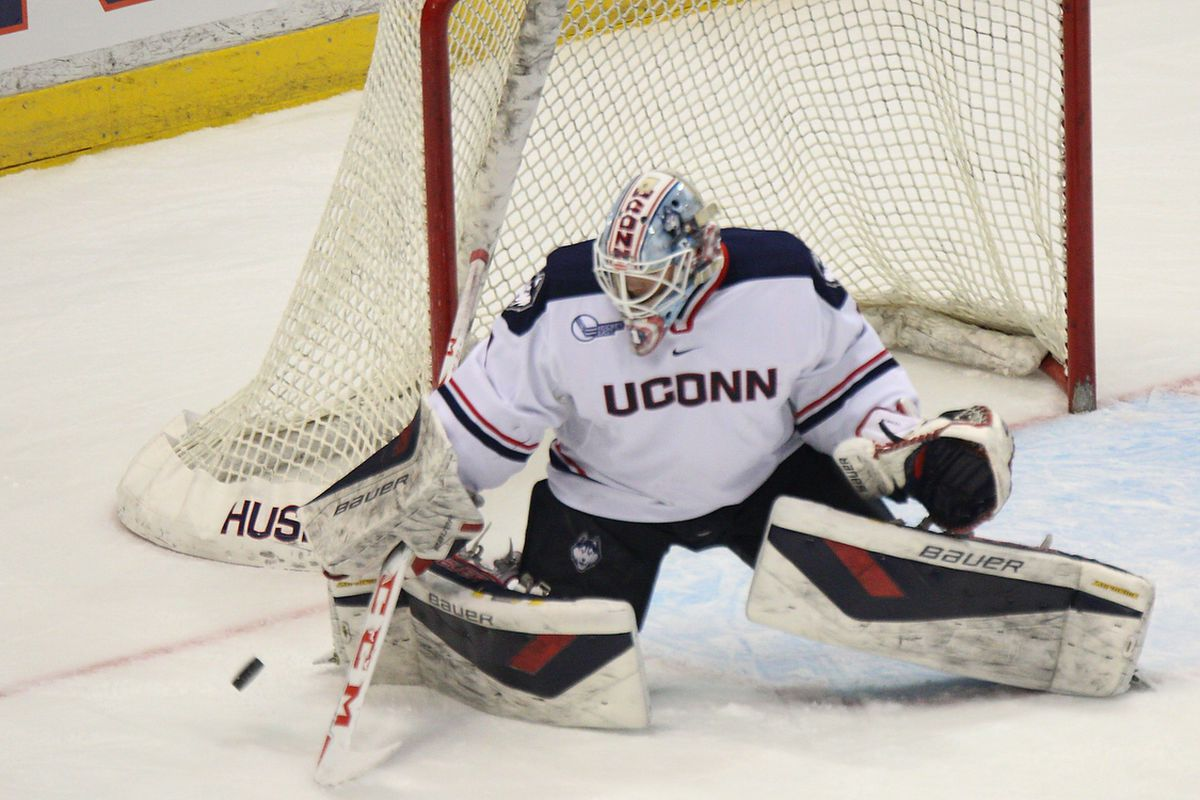 Backup goalie Tanner Creel has been solid in Rob Nichols' absence.