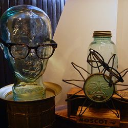 Tchotchkes like these are a Moscot staple.
