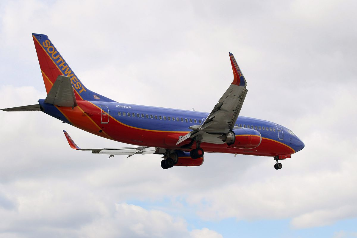 Southwest Airlines was averaging 4 to 6 flights per hour on Friday, March 20, 2020.