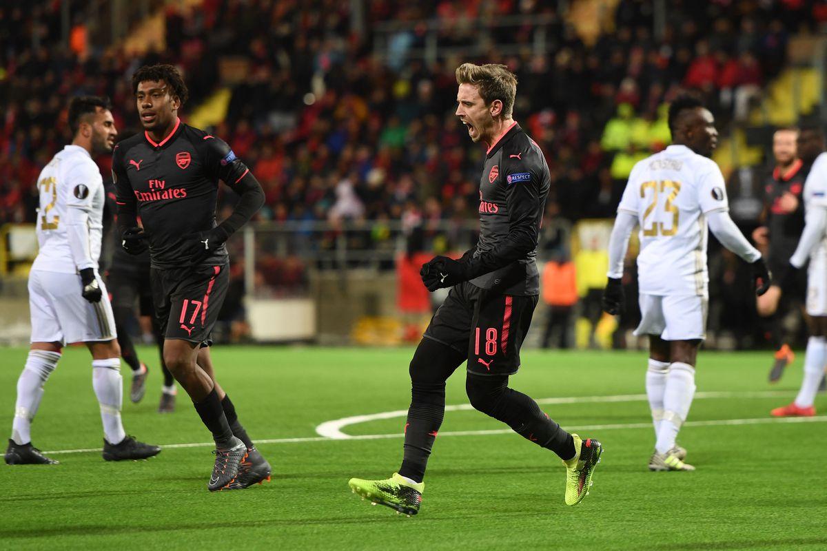 Ostersunds FK v Arsenal - UEFA Europa League