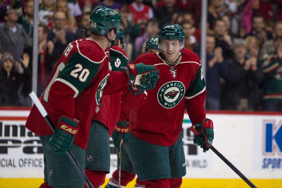 This dynamic duo improved the Wild greatly last season.