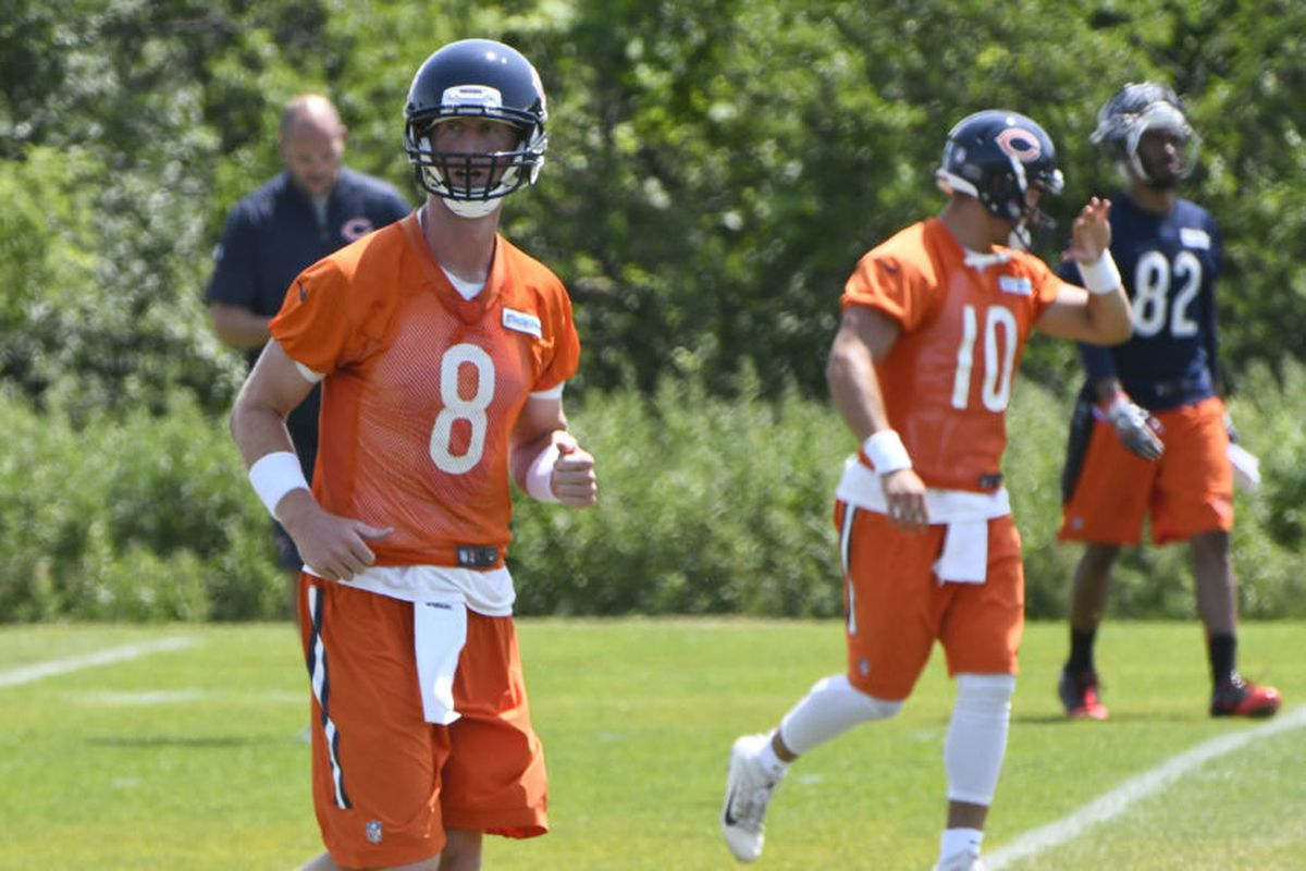 df66765074a1ee As much as the Bears will play coy, they'll give every opportunity to one  of their two primary quarterbacks to be the starter. Chicago Tribune