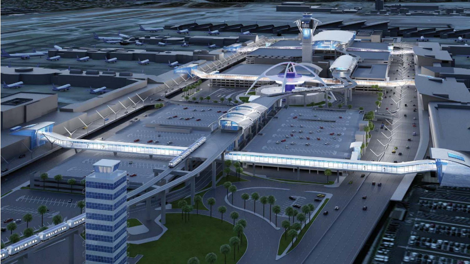 New Look At The Lax People Mover Set To Be Finished In