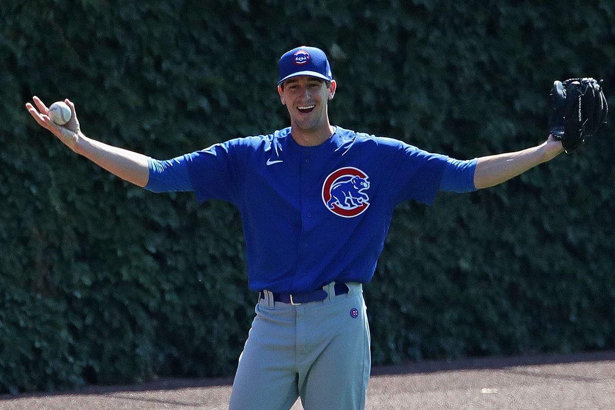 Kyle Hendricks takes his place at the top of the Cubs' rotation as their No. 1 starter.