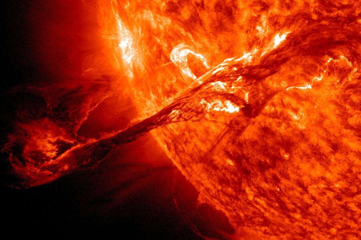 NASA solar explosion