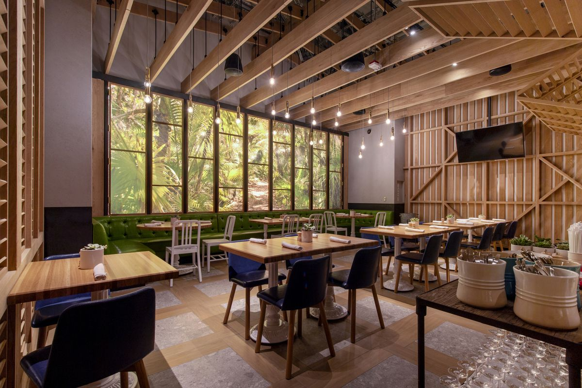 The private dinning room at True Food Kitchen