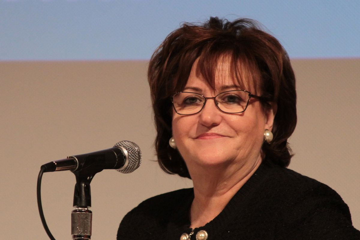 New York State Education Commissioner MaryEllen Elia at an education forum last year.
