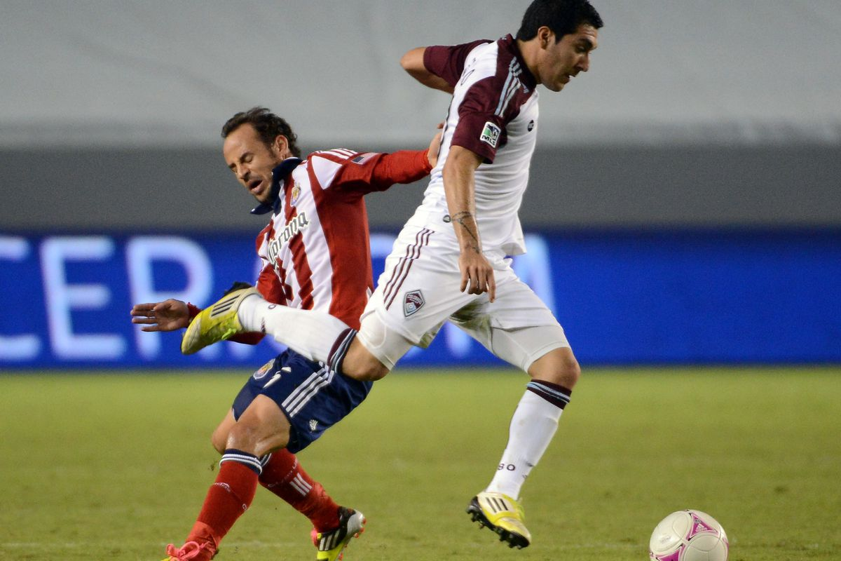 Chivas battled, and best Colorado Friday.