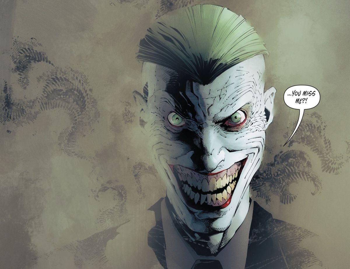 The Joker in Batman: Endgame, DC Comics (2014).