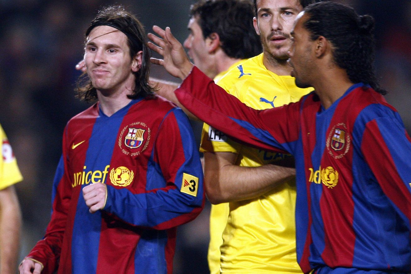 Ronaldinho can?t say Messi is the best of all time