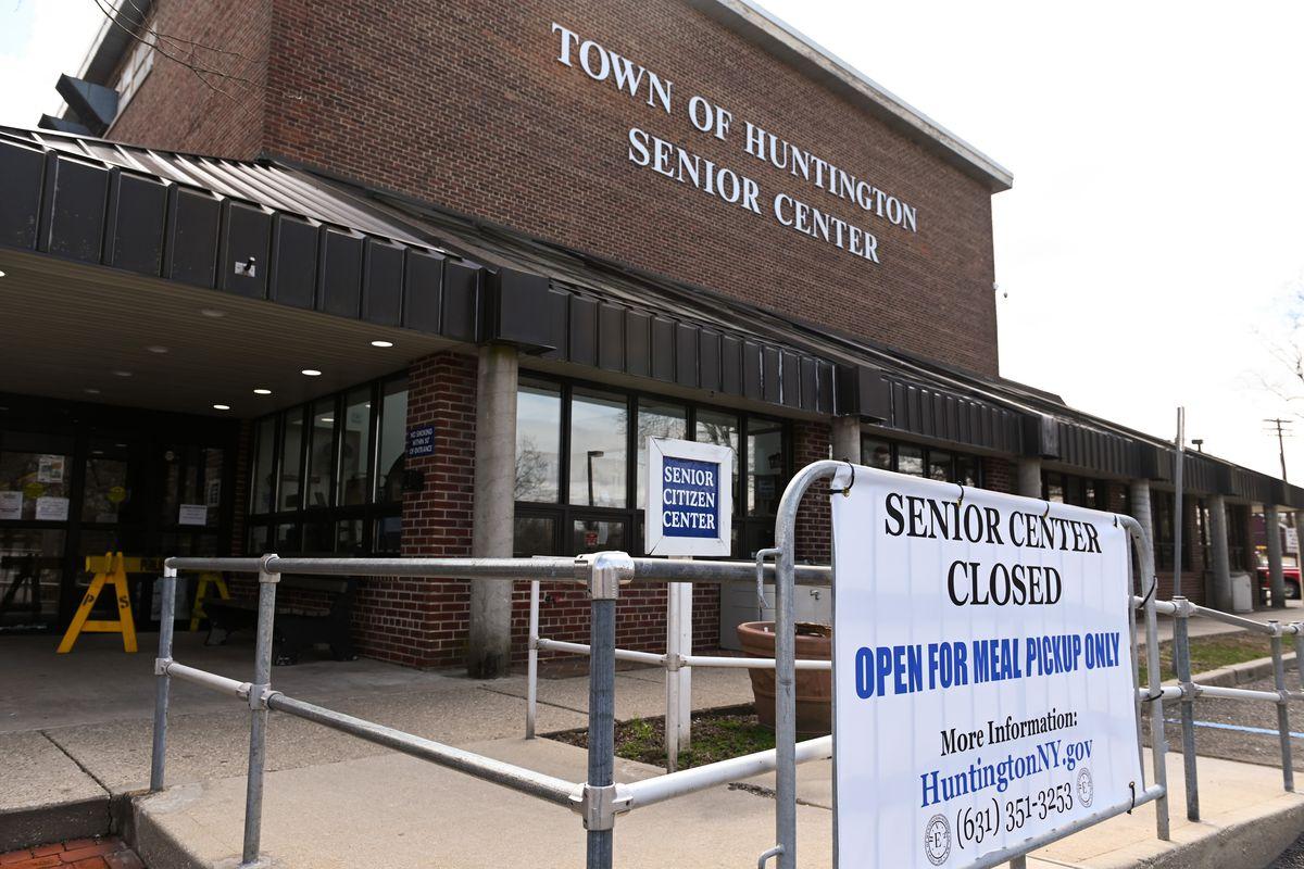 Huntington senior center on Long Island