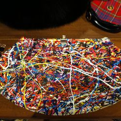 An Abstract Expressionist clutch
