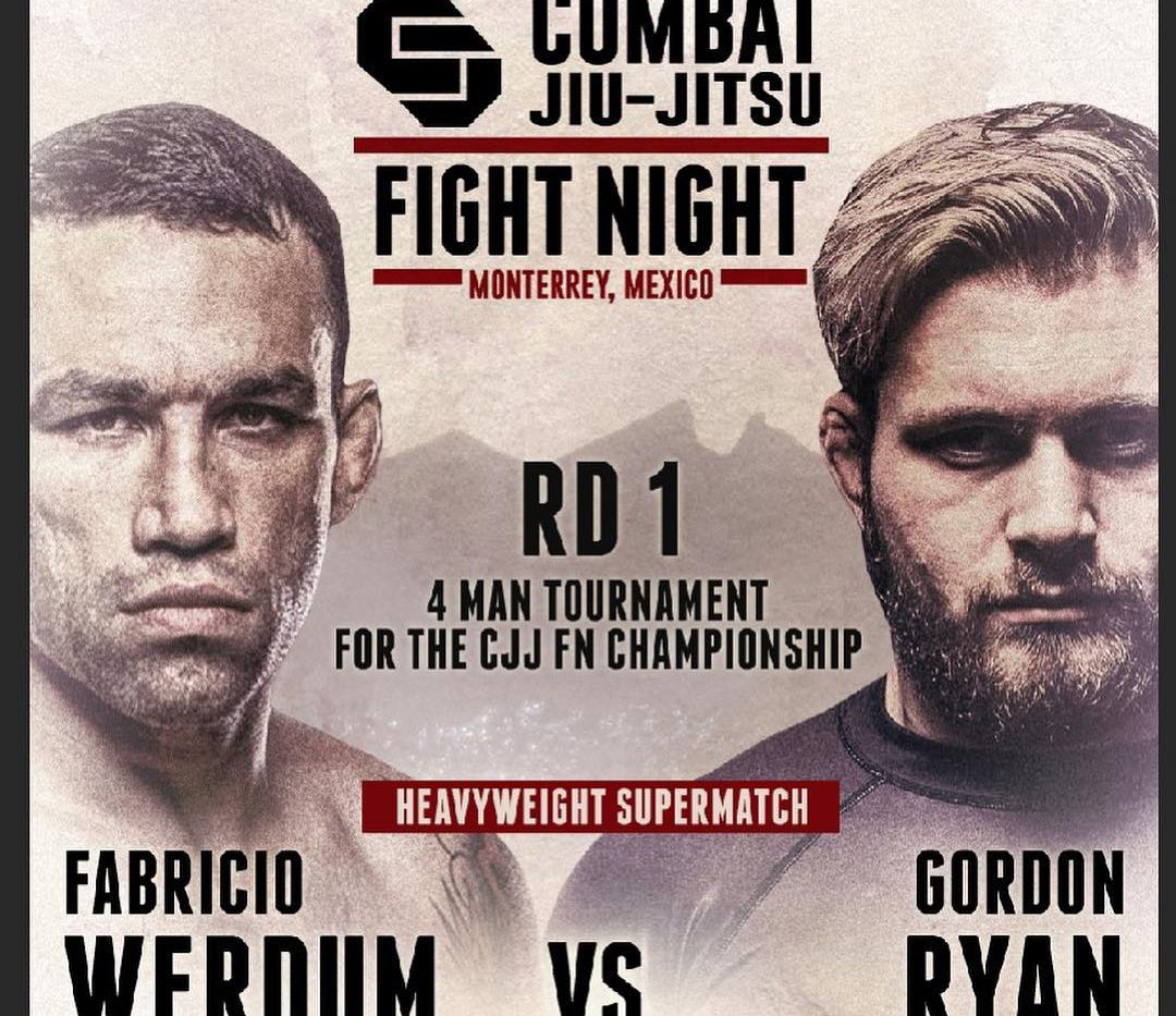 Fabricio Werdum vs Gordon Ryan official for Feb  22 'Fight