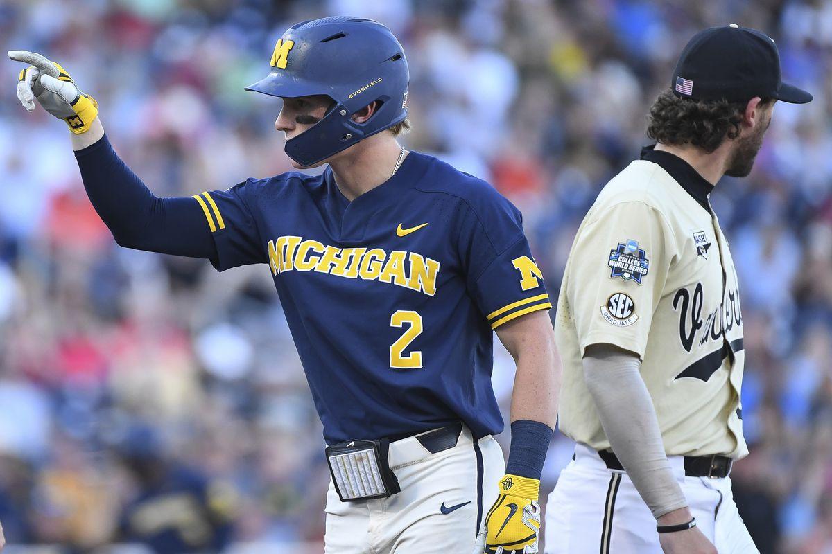 College World Series - Michigan v Vanderbilt - Game Three