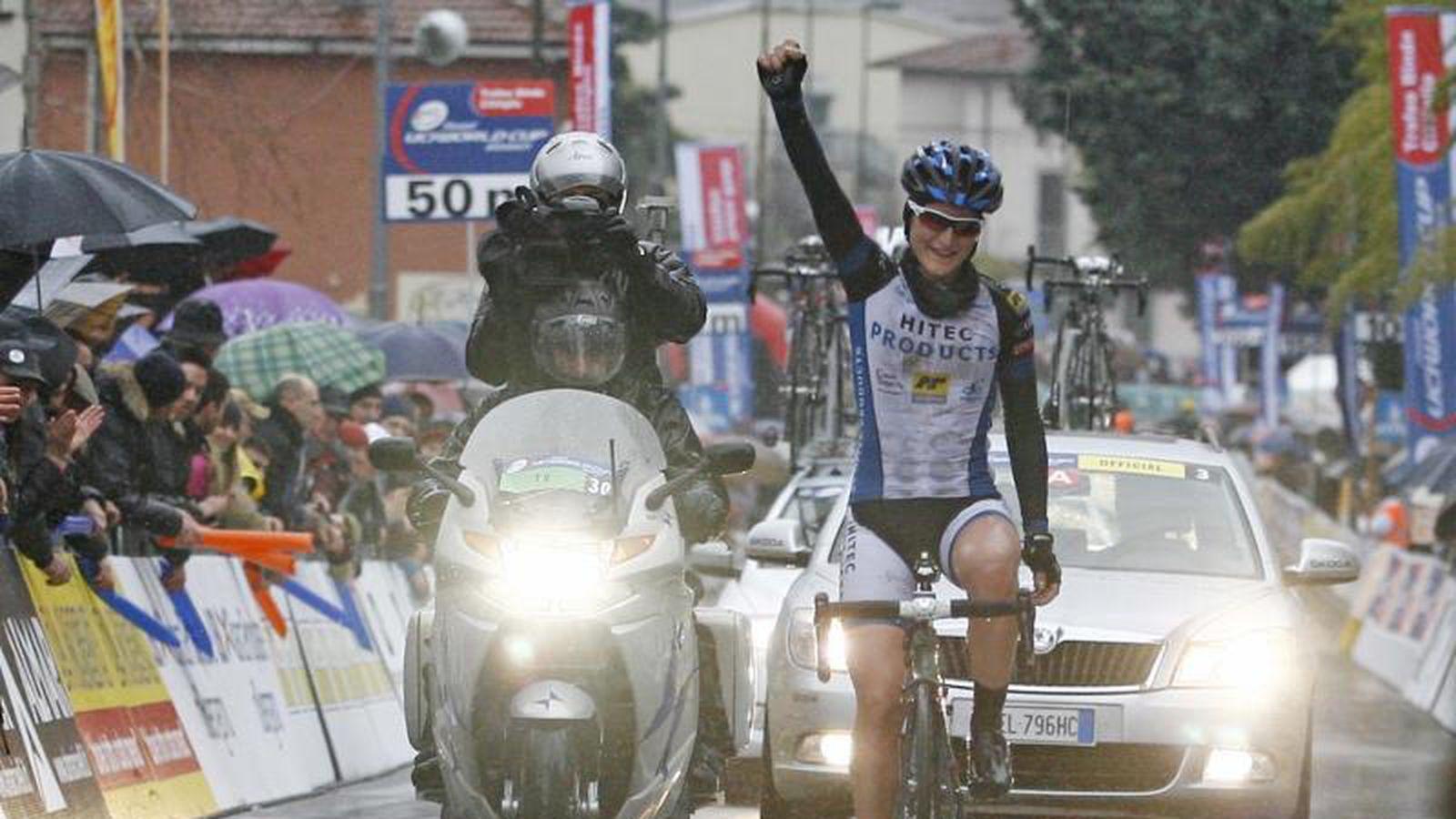 Elisa Longo Borghini on her Trofeo Binda win