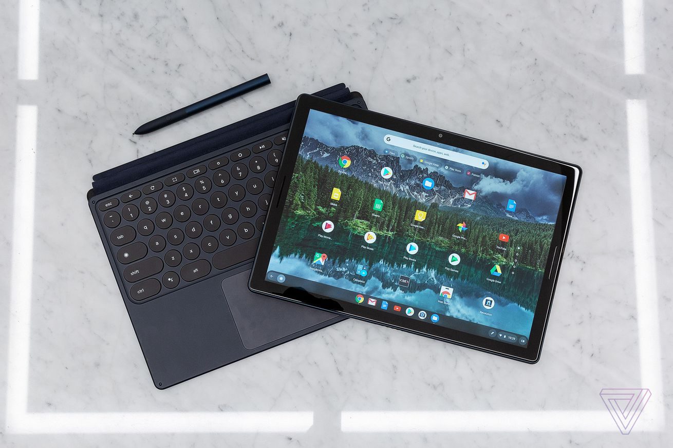 the pixel slate first look at google s new tablet