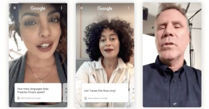Google Is Letting Celebrities Answer Questions About Themselves In - 10-celebrities-without-makeup-answers