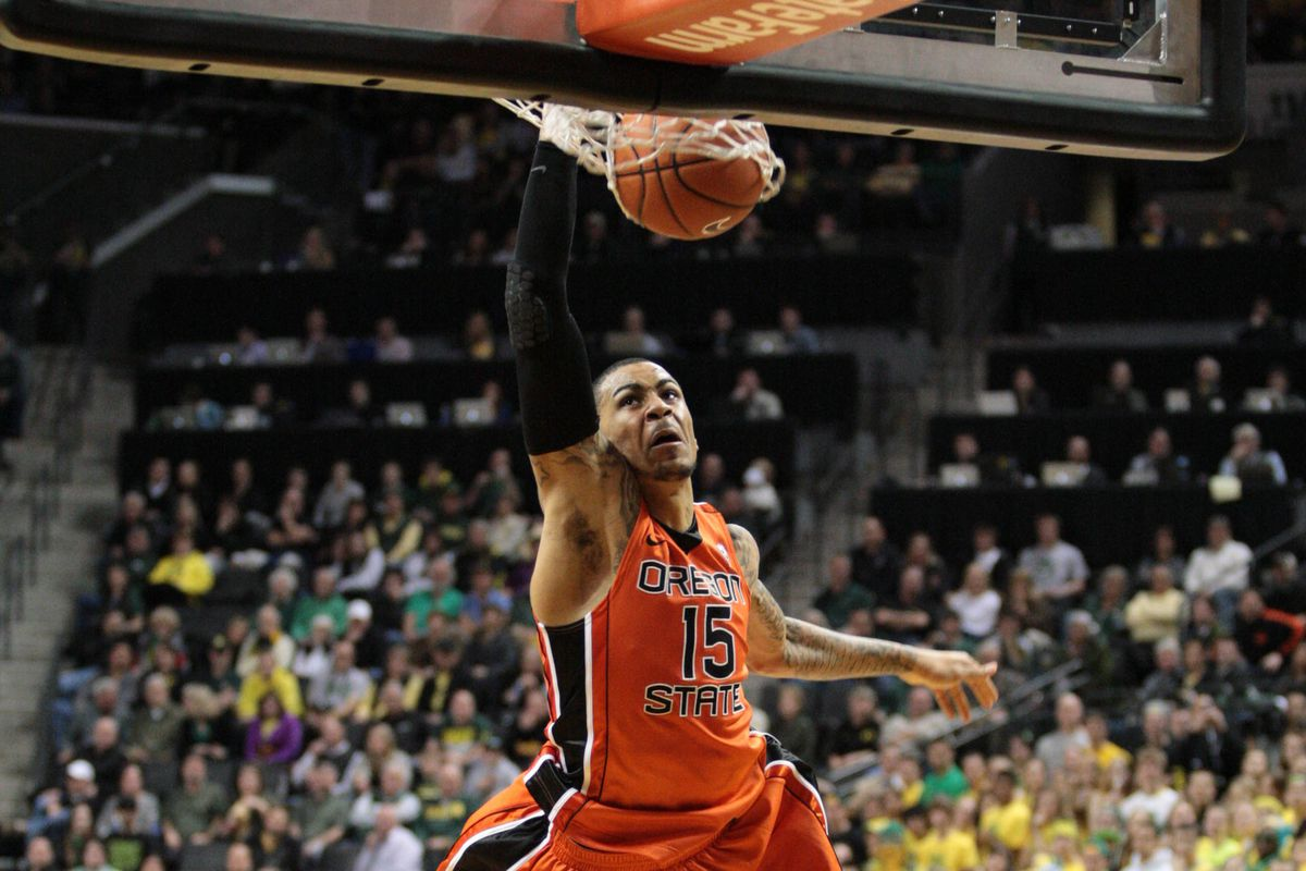 Eric Moreland's Slam At Oregon Got Him The Four Seed In The Play Of The Year Tournament