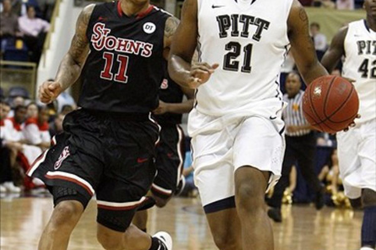 Pitt defeated St. John's last week at the Pete (Charles LeClaire-USPRESSWIRE)