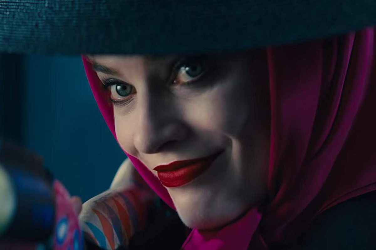 Margot Robbie as Harley Quinn in Birds of Prey.