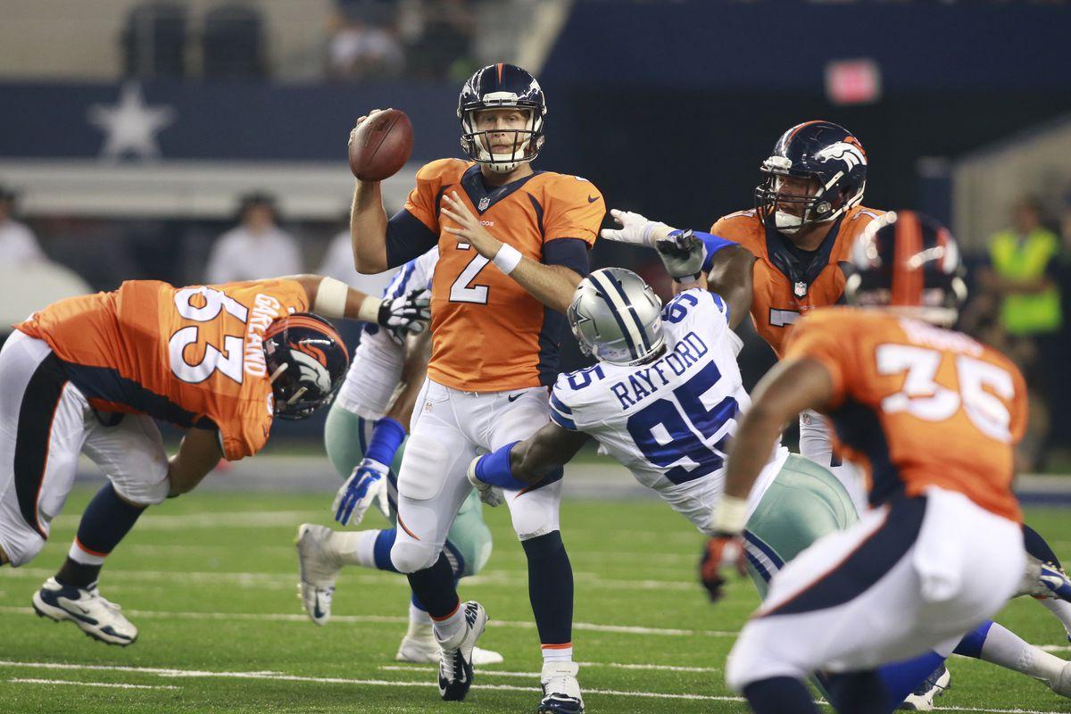 Broncos Roster Cuts A Final Denver Depth Chart Projection