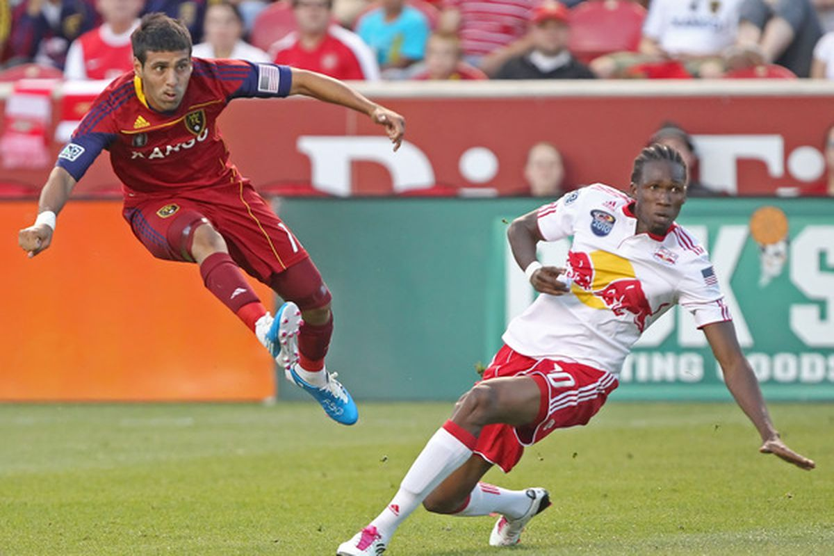 Javier Morales has been flying high since moving to central midfielder about a third of the way through last season.