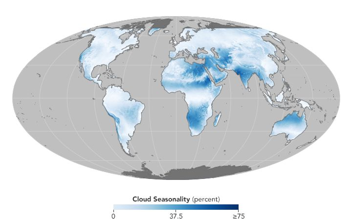 This Stunning Cloud Atlas Can Tell Us A Lot About Life On Earth Vox - Us-cloud-cover-map