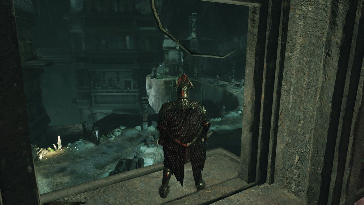 Dark Souls 2 Crown of the Sunken King - tower of prayer 2