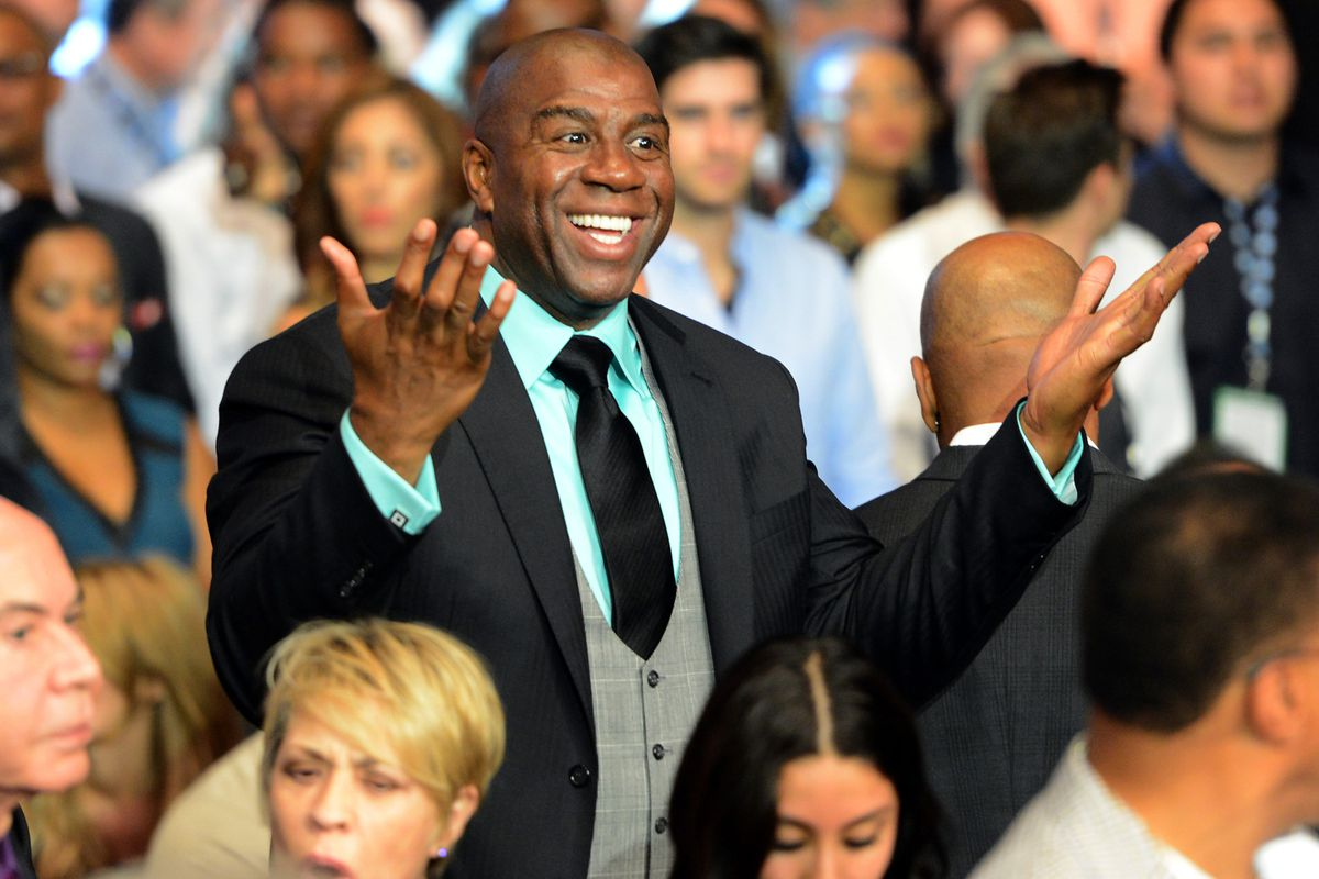 Magic Johnson may be part of a new ownership group for the Los Angeles Sparks.