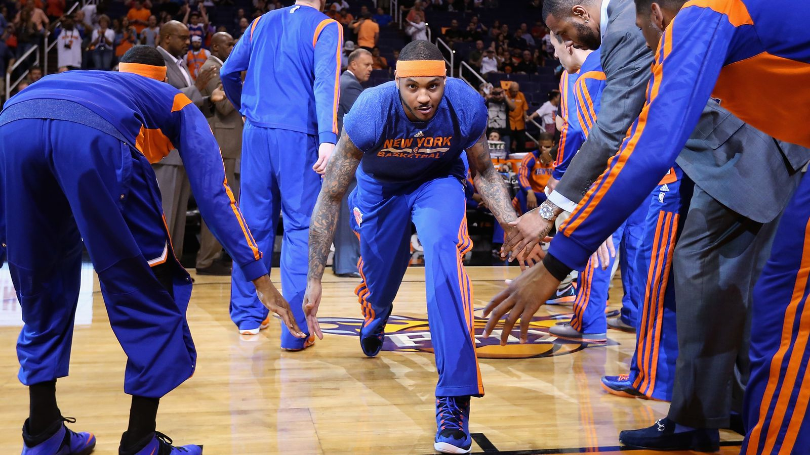 How will Carmelo Anthony's contract affect the Knicks in ...