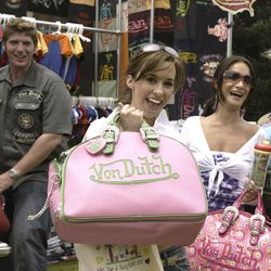 A young Lacey Chabert couldn't get enough of them.