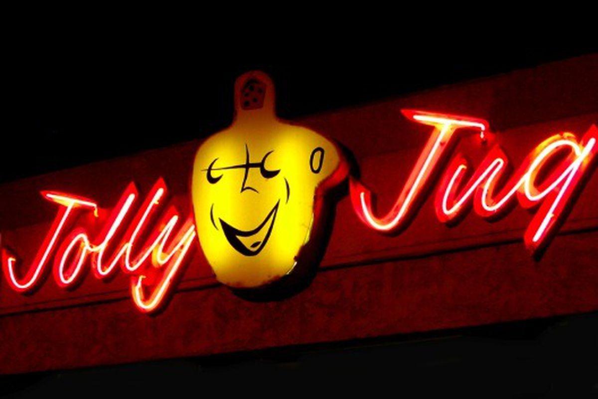 Jolly Jug Liquor, Northridge.