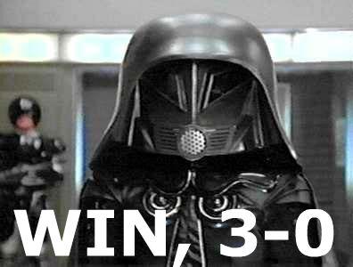 WIN, 3-0
