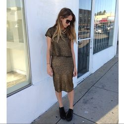 """<a href=""""http://www.instagram.com/creaturesofcomfort"""">@creaturesofcomfort</a>: """"We received our first shipment of FW13 Creatures of Comfort #Creaturesofcomfort top and skirt #LDTuttle the cloud shoes #ThierryLasry sunnies"""""""