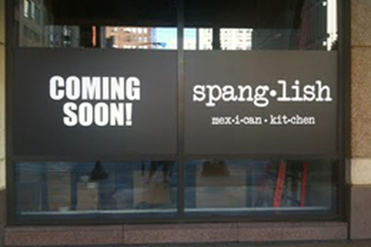 spanglish mexican kitchen coming; x-marx dinner; more - eater chicago