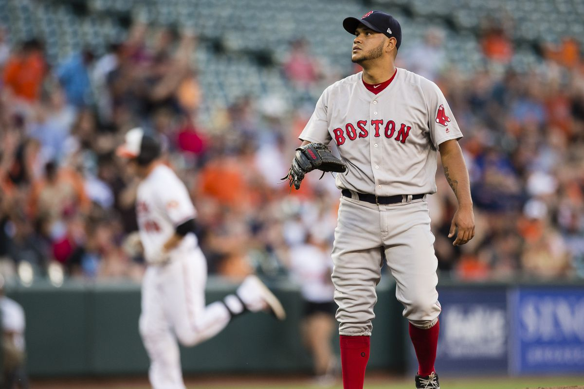 Red Sox P Rodriguez told to rest