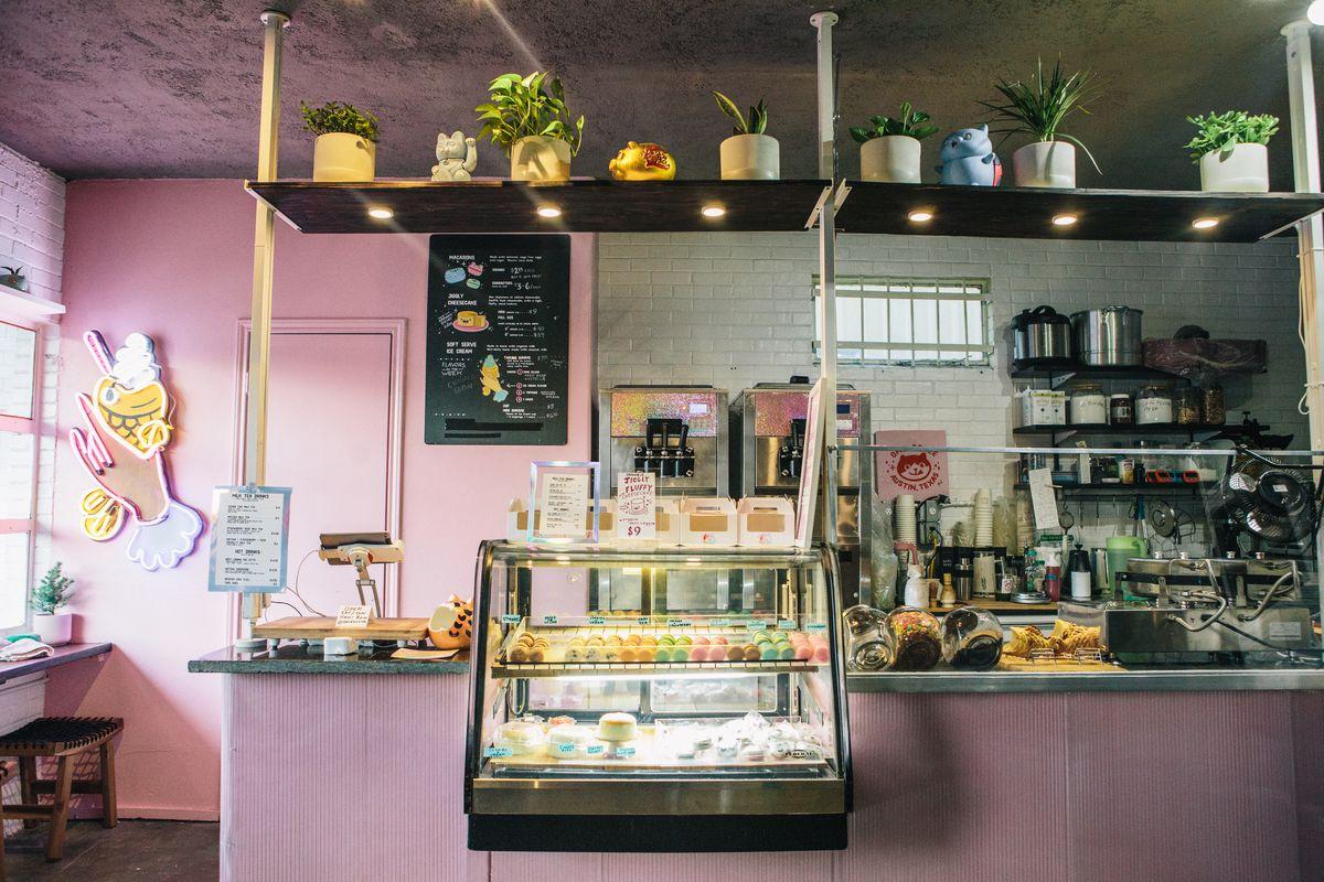 Inside OMG's bakery space