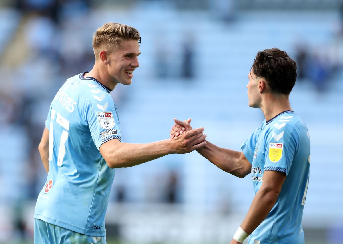 Coventry City v Nottingham Forest - Sky Bet Championship - Coventry Building Society Arena