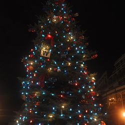 The Cubs holiday tree