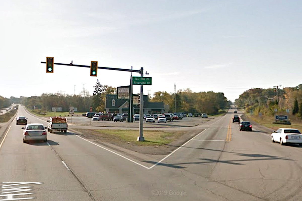 A man was critically hurt in a crash Feb. 16, 2020, at Routes 41 and 21 in Gurnee, nearly a week after a woman died in a crash at the same intersection.