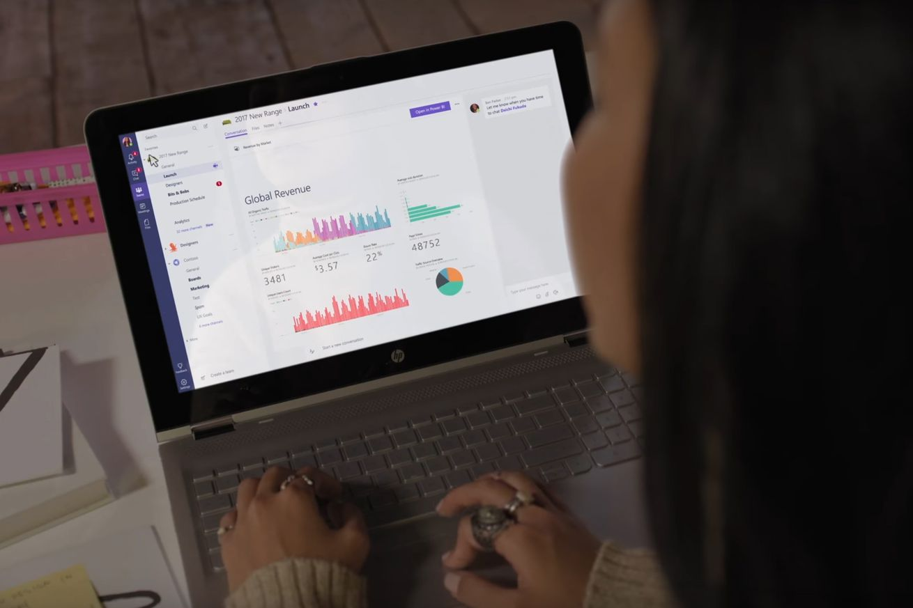 Microsoft Teams stock