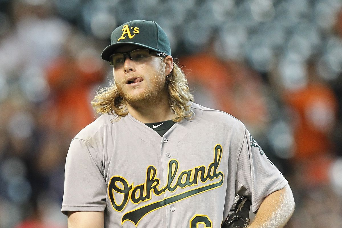 If Mike Gallego isn't available next summer, maybe A.J. Griffin could pitch to Yoenis Cespedes in the Home Run Derby.