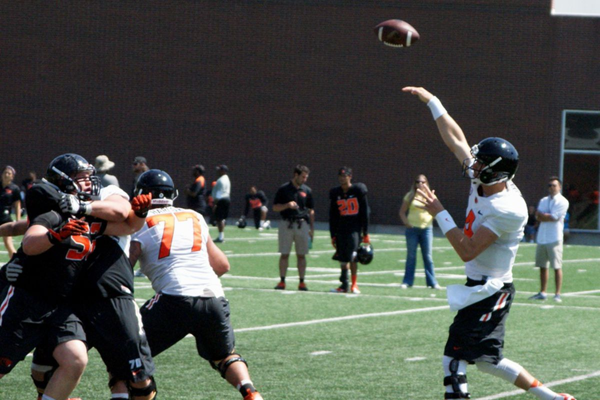 Beaver Nation should be prepared for Sean Mannion to air it out as Oregon St. attacks the start of the season.